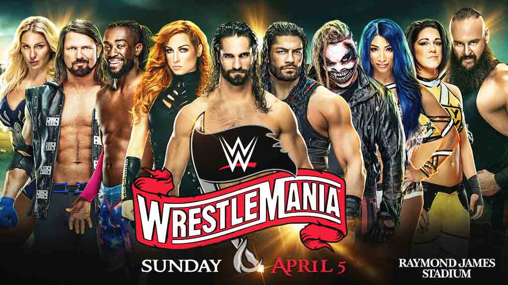 WRESTLEMANIA IN TAMPA!